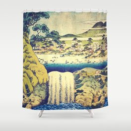 To Pale the Rains in August Shower Curtain