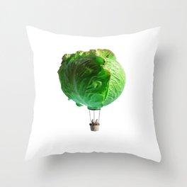 Iceberg Balloon Throw Pillow