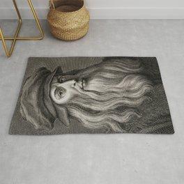Leonardo da Vinci Rug