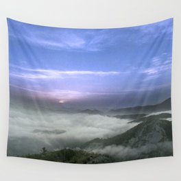 Above the Cloud, Under the Sky Wall Tapestry