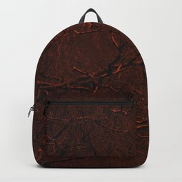 all red Backpack