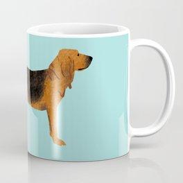 Bloodhound dog breed funny dog fart Coffee Mug