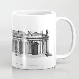 Palais de Bourbon in Paris 1752 Coffee Mug