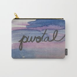 pivotal watercolor print Carry-All Pouch