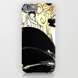 HIPPODROME HARLEQUIN PIERROT iPhone Case