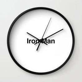 Iron Man Wall Clock