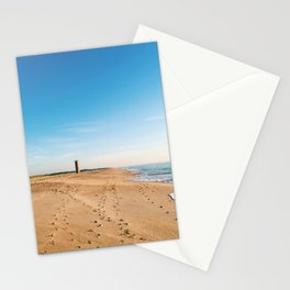 Beach, ocean with waves - minimalist landscape photography | Rehoboth Beach, DE Stationery Cards