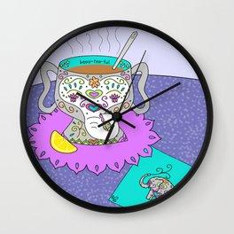 Beau~Tea~Ful Wall Clock