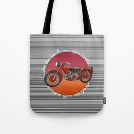 Vintage motorcycles Tote Bag