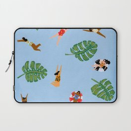 Floating in the sea Laptop Sleeve