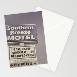 Southern Breeze Motel Stationery Cards
