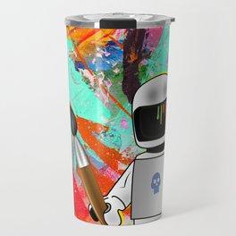 space painting Travel Mug