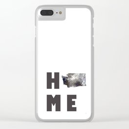 "Washington ""HOME"" Clear iPhone Case"