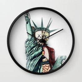 Kaws poster Wall Clock
