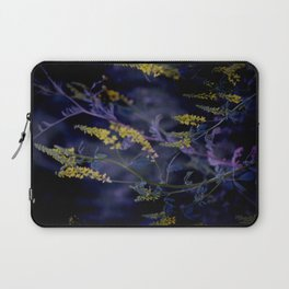 purple and yellow Laptop Sleeve