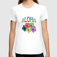 aloha T-shirts featuring Aloha  by John Minar Fine Art Photography