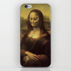 Monnalisa is dead iPhone & iPod Skin