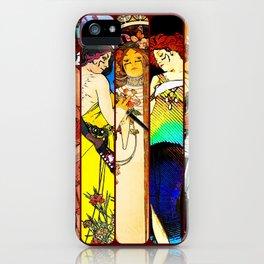 Apocalypto Nouveau iPhone Case