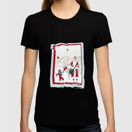 A French Script Christmas T-shirt
