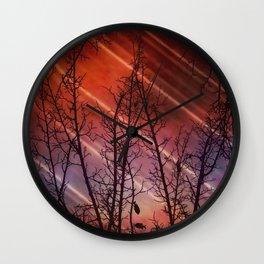 Polarized Light (Underwater) Wall Clock