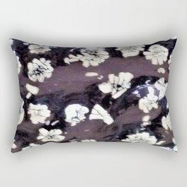 Stone Peony Rectangular Pillow