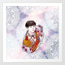 BST Suga Kings of KPOP, Love Yourself, Boy With Luv Art Print