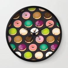 Sweet Donuts Wall Clock