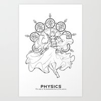 physics Art Prints featuring Physics by Verdant Winter