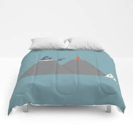 Snow Capped Comforters