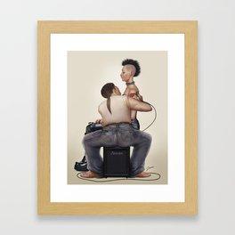 Tattoo shop Framed Art Print