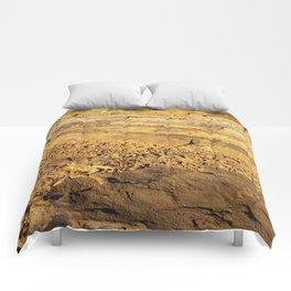 Rocky Sunset Comforters