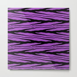 A New Wild - Purple Metal Print