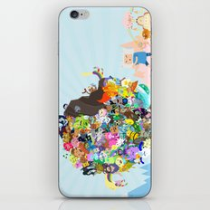Adventure Time - Land of Ooo Katamari iPhone & iPod Skin