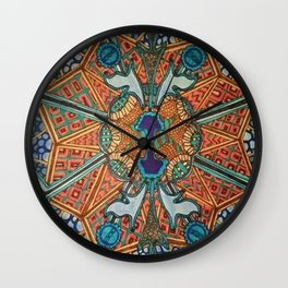 GEOMETRIC MOSAIC Wall Clock