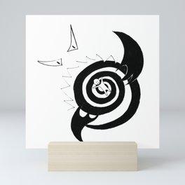 Fear Series - Scene 4 Mini Art Print
