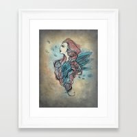 wings Framed Art Prints featuring Wings by Annike