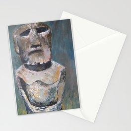 rapa nui Stationery Cards
