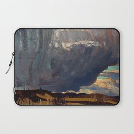 Tom Thomson - Approaching Snowstorm - Canada, Canadian Oil Painting - Group of Seven Laptop Sleeve