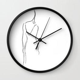 That woman Wall Clock