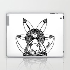 in post-meditation, be a child of illusion Laptop & iPad Skin