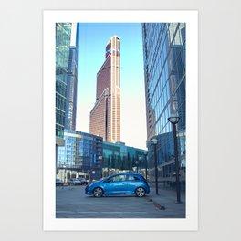Соsmic City Art Print