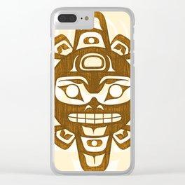 Salish Sun Clear iPhone Case