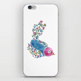 Wildflower Bird iPhone Skin