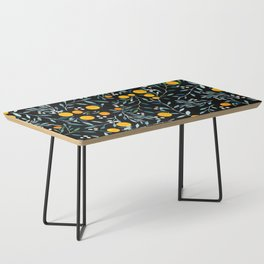 Oranges Black Coffee Table