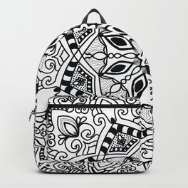 Project 290 | Black and White Mandala Backpack