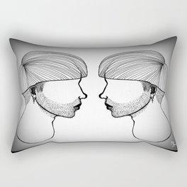 Queer boys  Rectangular Pillow