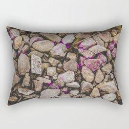 Flames of Purple Rectangular Pillow