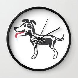 Dog's Bone Marrow Wall Clock