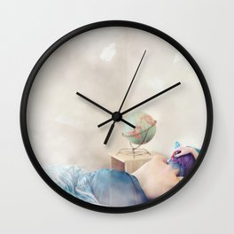 """Wanderlust is incurable."" Wall Clock"