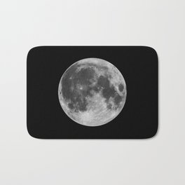 Full Moon Bath Mat